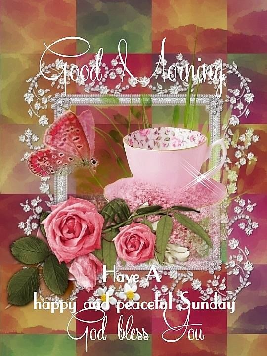 Good Morning Happy Peaceful Sunday Pictures Photos And