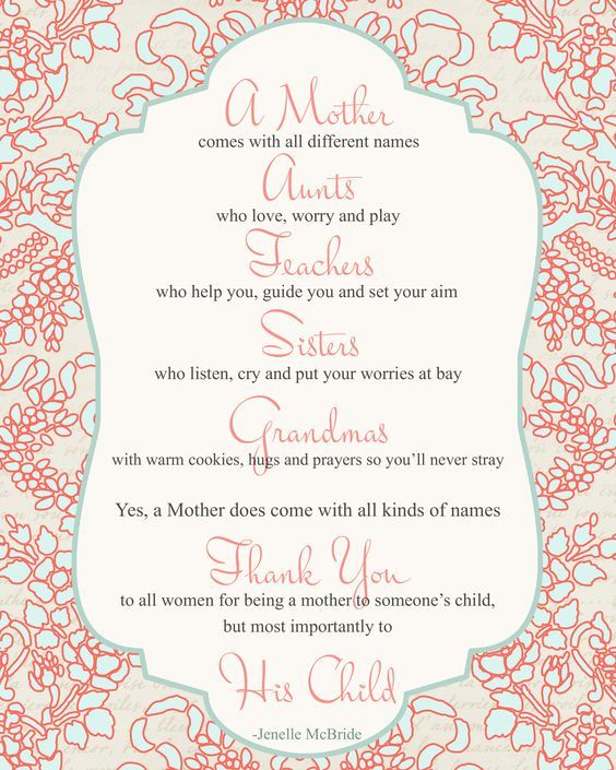 Special Sayings About Aunts