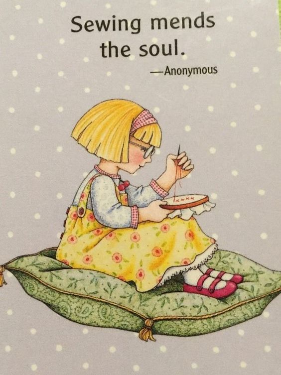Sewing Mends The Soul Pictures Photos And Images For