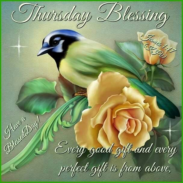 Thursday Blessings And Change