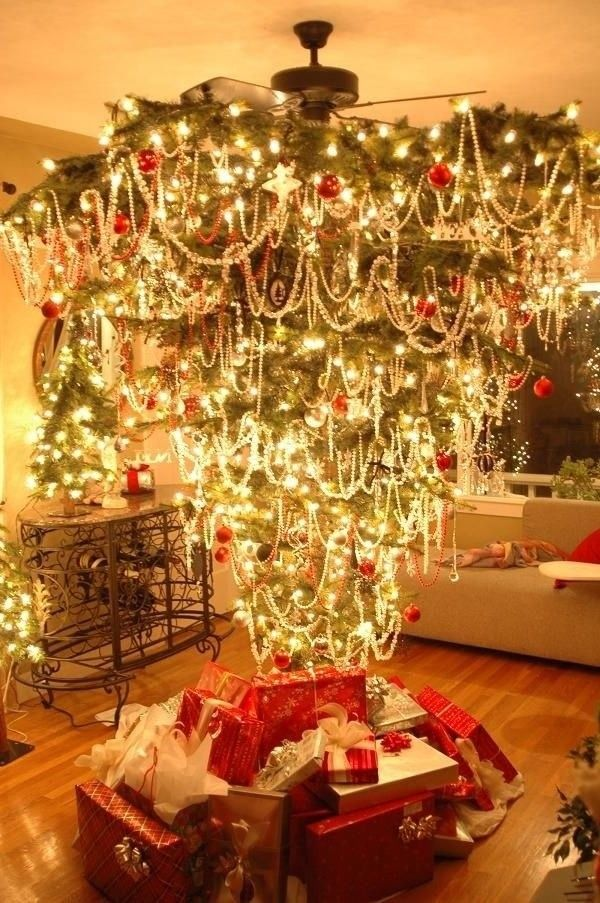 Upside Down Christmas Tree Pictures Photos And Images