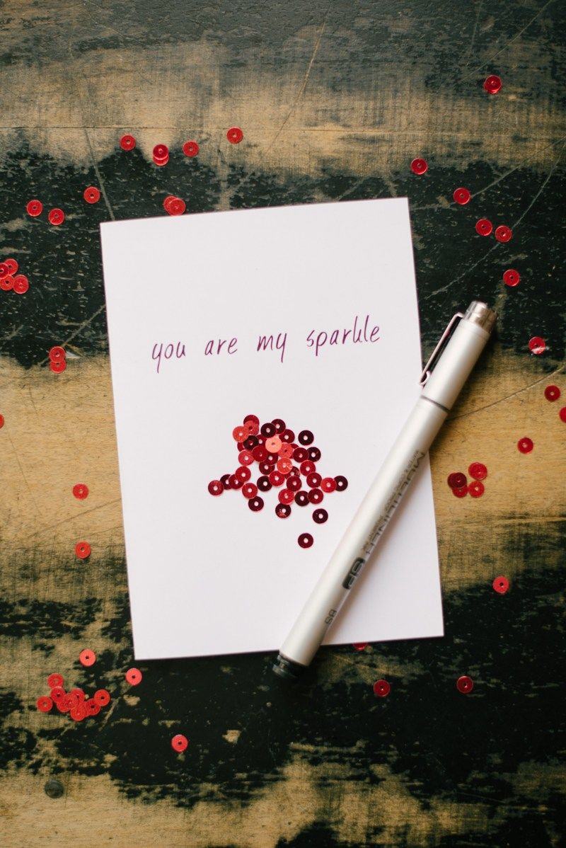 You Are My Sparkle Valentines Day Card Pictures Photos