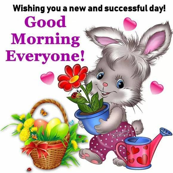 Wishing You A New And Successful Day Good Morning Everyone Pictures Photos And Images For