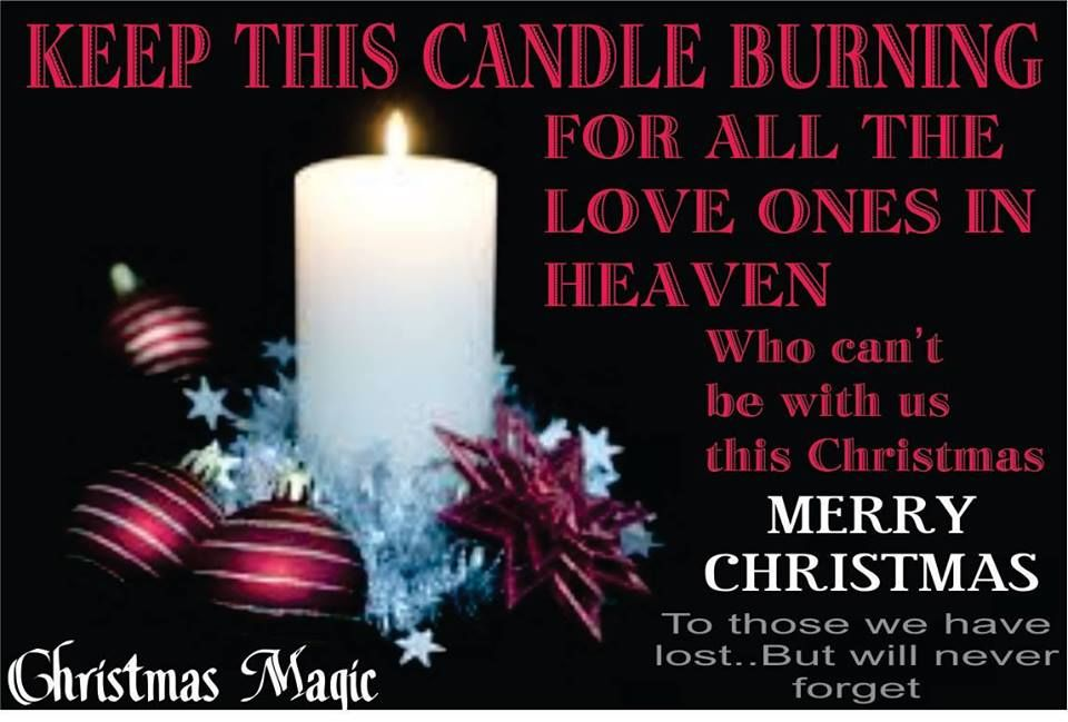 Download Keep This Candle Burning For All The Love Ones In Heaven ...
