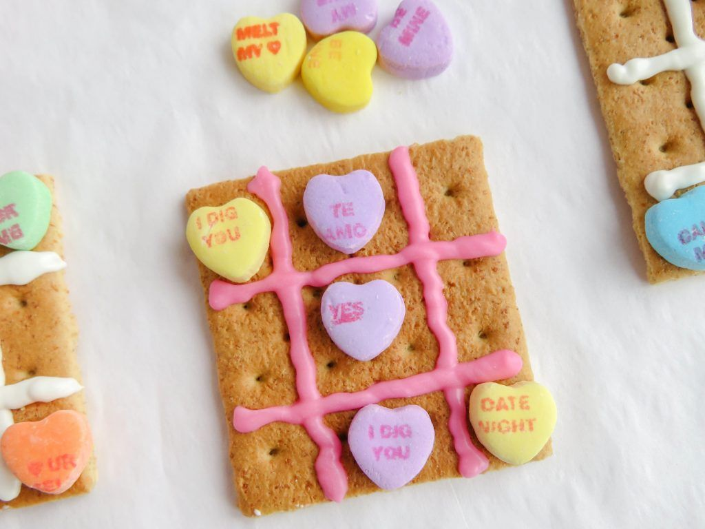 Valentine Tic Tac Toe Snack Craft Pictures Photos And