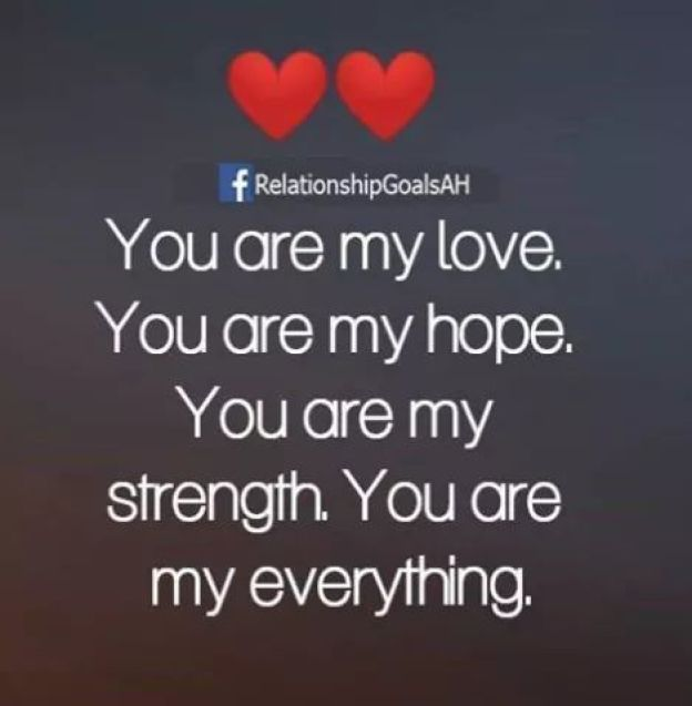 You Are My Love, You Are My Everything Pictures, Photos, and Images for  Facebook, Tumblr, Pinterest, and Twitter