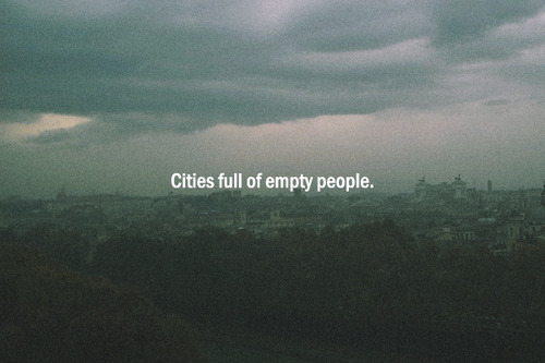 Image result for empty people tumblr