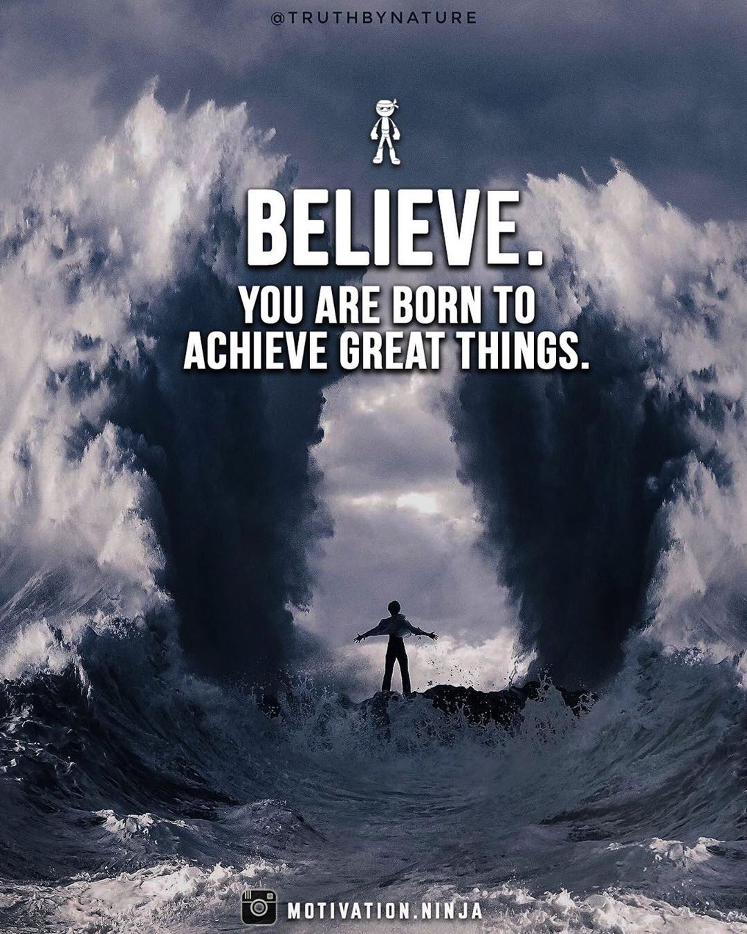 Believe You Are Born To Achieve Great Things Pictures ... on Outstanding Things  id=21694
