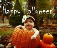 happy halloween baby pictures