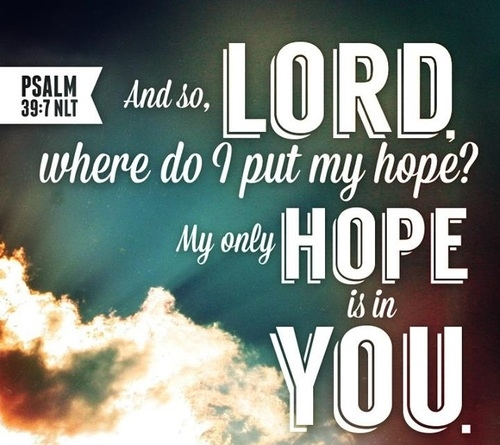 My Hope Is In You Pictures, Photos, and Images for Facebook, Tumblr,  Pinterest, and Twitter
