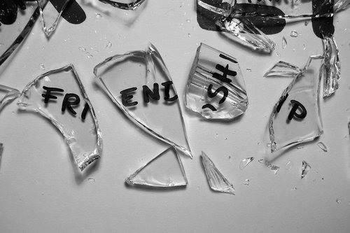 Image result for broken friendship