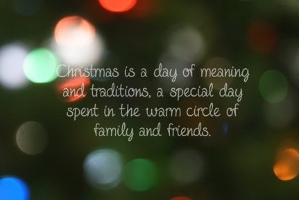 Christmas Is A Day Of Meaning And Traditions Pictures