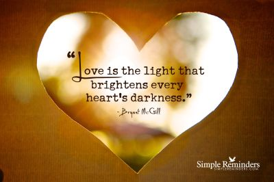 for light and love