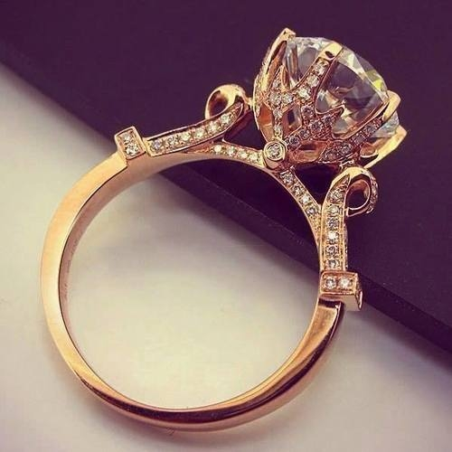 Gold Band Diamond Ring Pictures Photos And Images For Facebook