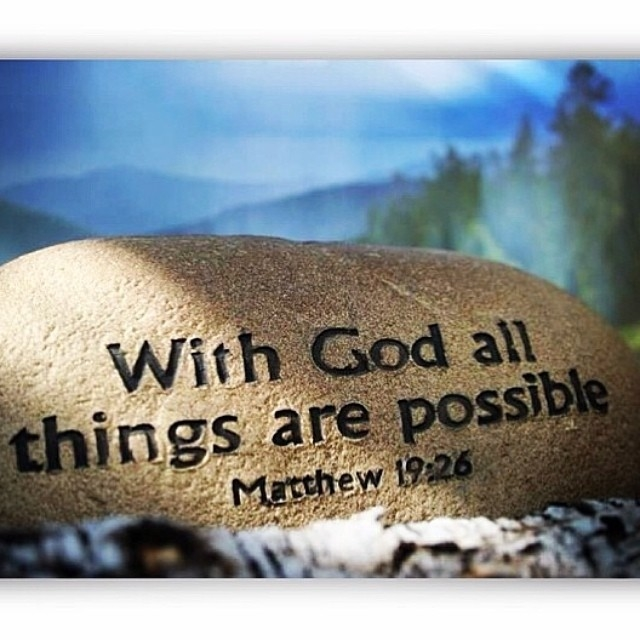 Image result for with god all things are possible images