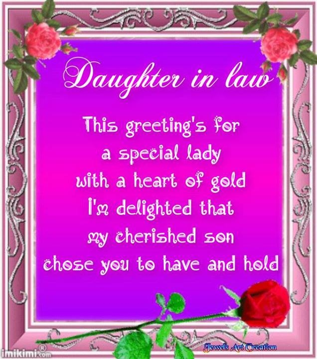 Daughter In Law Quote Pictures Photos And Images For