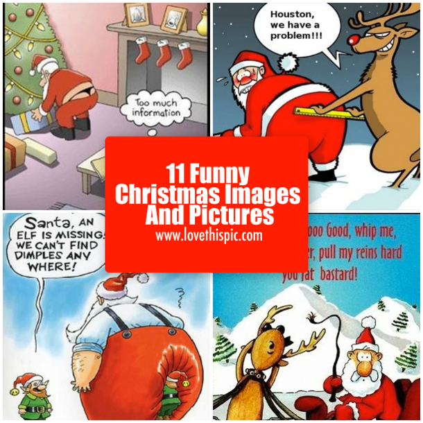 11 Funny Christmas Images And Pictures