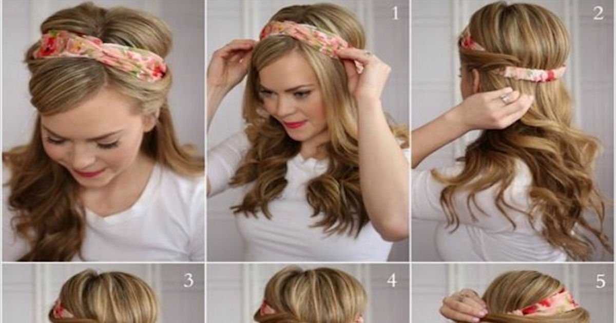 Tuck And Cover Half Hairdo Tutorial Pictures Photos And