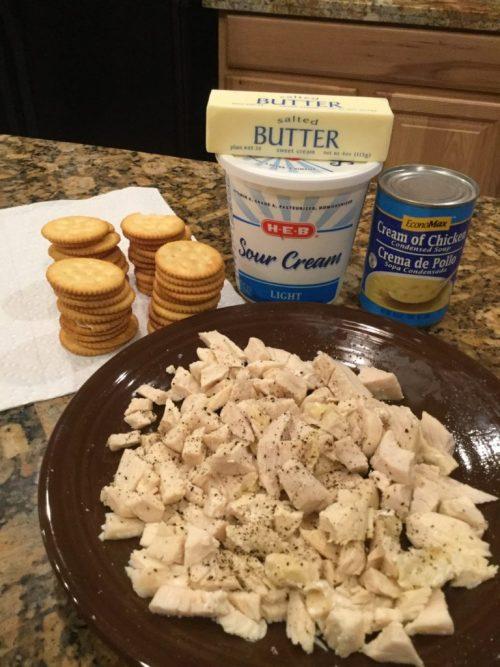 Creamy chicken casserole recipe