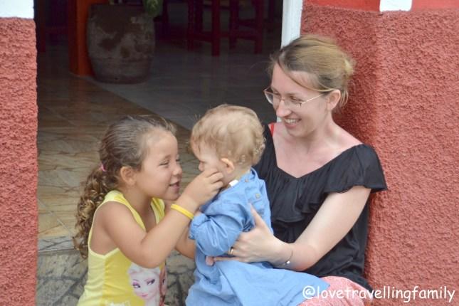 Trinidad Casa Coky, Love travelling family