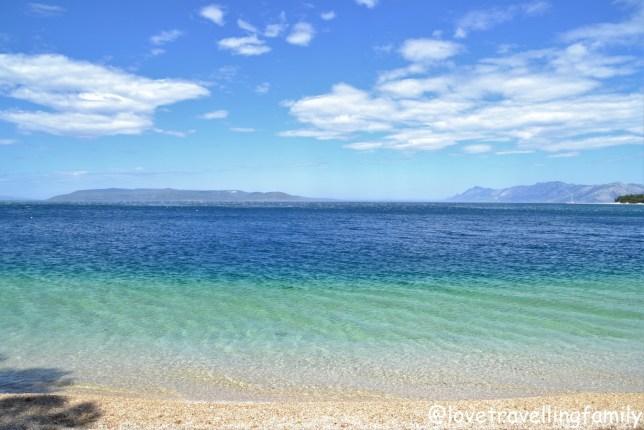 Najlepsze plaże Chorwacji Makarska. Chorwacja z dzieckiem. Plaża