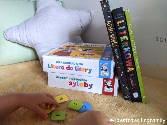 Nauka literek. Nauka czytania dla dwulatków i trzylatków