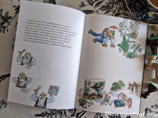 """""""Dziadek Tomek"""" Mafra Gagliardi, ilustracje Štěpán Zavřel. Recenzja książki."""