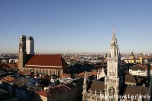 Frauenkirche, Munich, Germany, Love travelling family
