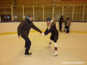 Lund ice skating