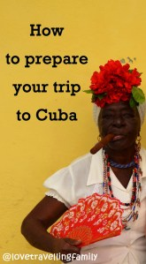 A woman with a cigar, Cuba