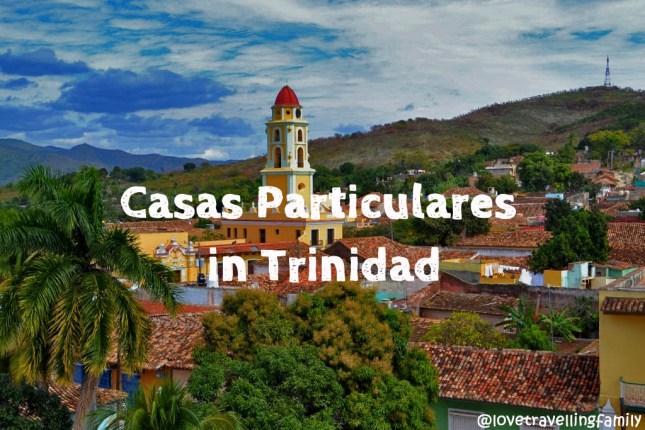 Casas Particulares in Trinidad