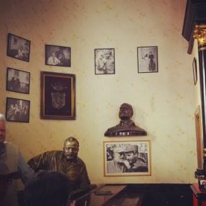 Hemingway, El Floridita, Havana