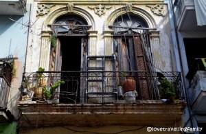 Old buildings, Havana