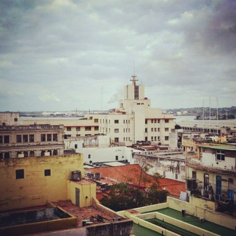 Panorama of Havana, Hotel Ambos Mundos