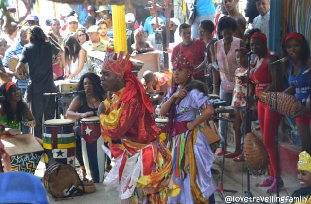 Spiritual dances at Callejon de Hamel, Havana
