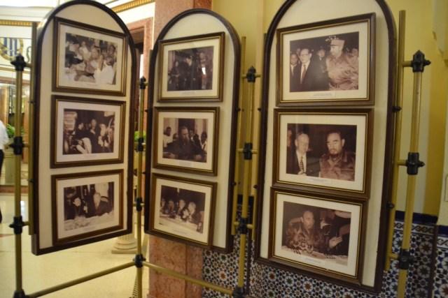 Celebrities at the Hotel Nacional
