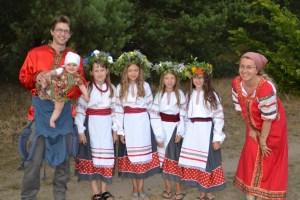 Love travelling family @ Na Ivana na Kupala