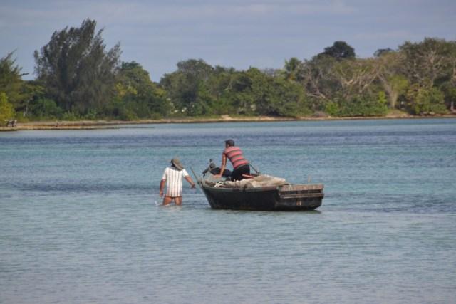 Playa Larga, boat