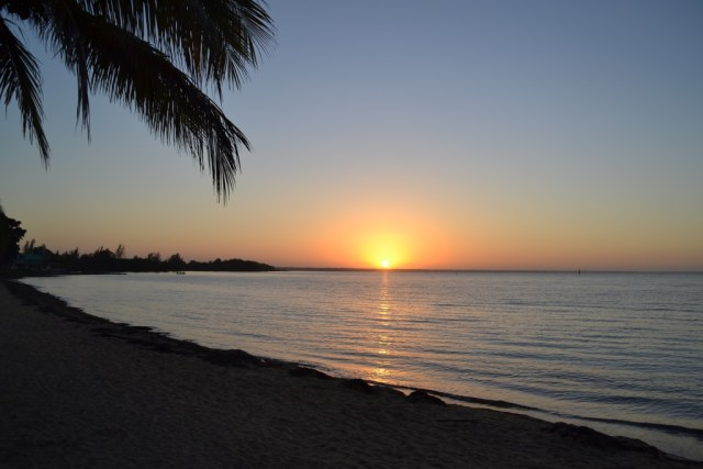 Sunrise at Playa Larga, Cuba