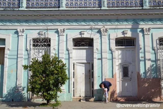 Zosia & Dario in Cienfuegos, Cuba