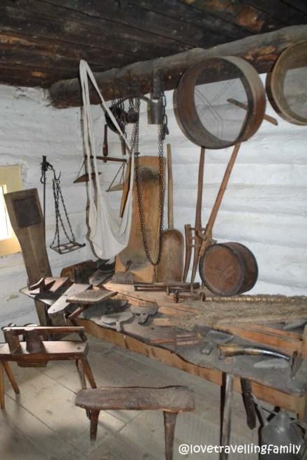 Museum in Vlkolinec, Slovakia