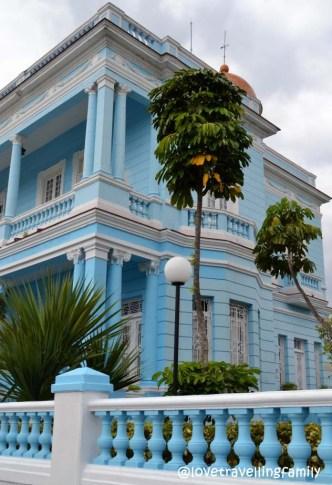 Palacio Azul, Cienfuegos, Cuba