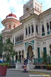 Love travelling family @Palacio de Valle, Cienfuegos, Cuba (Entrance)