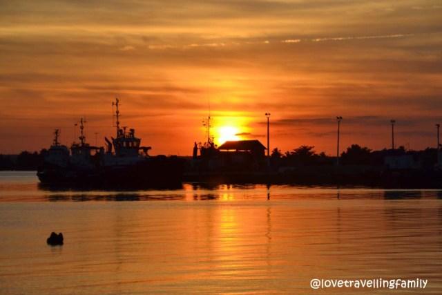 Sun set, Cienfuegos, Cuba