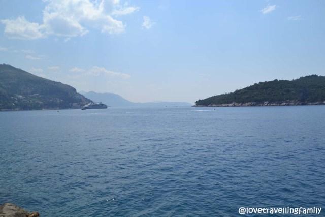 View,Buza bar, Dubrovnik