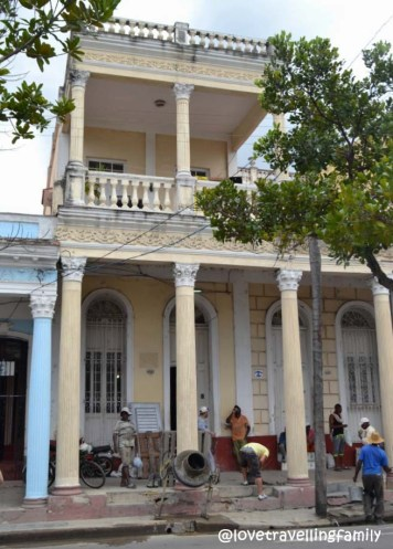 Workers, Paseo del Prado, Cienfuegos, Cuba