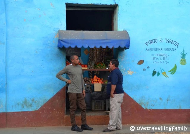 Fruit store, Trinidad, Cuba