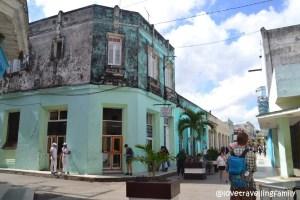 Walking through Santa Clara, Cuba