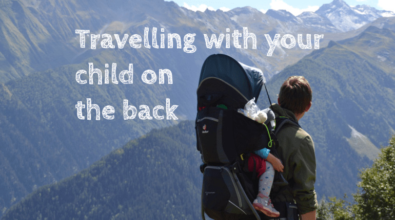 Travelling with your child on the back - Deuter Kid Comfort 3