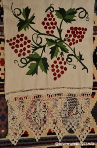 Folk decorative towel